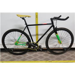 "State Bicycle Company 4130 Black 20"" Men's All Road Bike"
