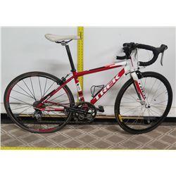 Trek One Two 1.2 Red Road Bike w/ Racing Handlebars