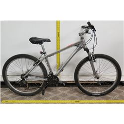 Silver Men's Road Bike