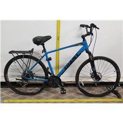 Giant Roam L Blue Hybrid Bike w/ Rear EcoRack