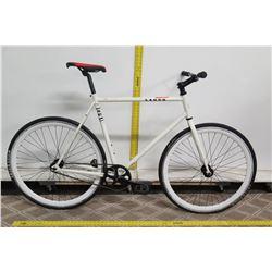 SE Bikes Lager White Men's Road Bike w/ Freedom ThickSlick Tires