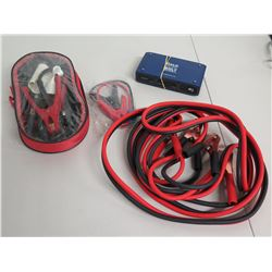 BestHalo Halo ACDC Bolt 58830 Portable Jump Starter & 3 Sets Jumper Cables