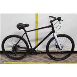 6061 Superlite Butted Aluminum Black Men's Road Bike