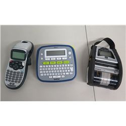 Zebra QLn320 Mobile Printer, Brother P-Touch & Dymo LetraTag Label Makers