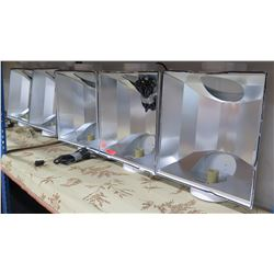 Qty 4 Hydrofarm Horticultural Products Grow Lights