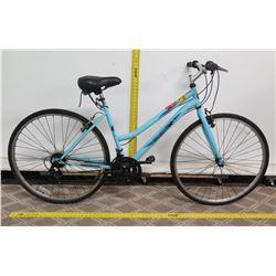 Roadmaster Adventures Blue Women's Hybrid Bike