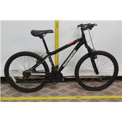 Mongoose Excursion 21 Speed Black Men's Mountain Bike