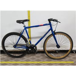 Schwinn Kedzie Single Speed Fixie 700c Blue Men's Road Bike