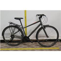 Specialized Tourney Gray Road Bike w/ Fenders & Rear Rack