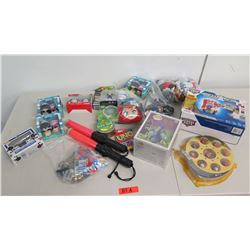 Toys & Games: Mickey & Minnie Mouse, Sheik Figure, Transformers, Uno, etc