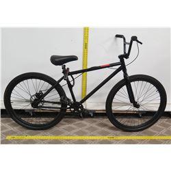 Black Men's Mountain Bike w/ Lock