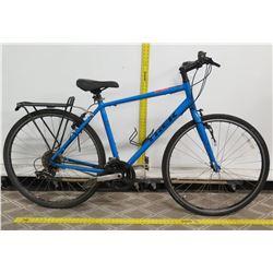 Trek FX2 Disc Blue Men's Hybrid Bike w/ Rear Eco Rack