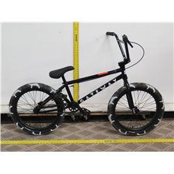Cult Gateway Black Boy's BMX Trick Bike w/ Camouflage Tires