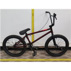 Cult Gateway Red Boy's BMX Trick Bike