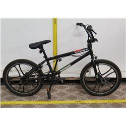 """Mongoose Mode 270 Black Boy's 20.5"""" Freestyle BMX Trick Bike"""