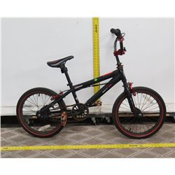 Black Label Razor Pro 18 FS Black BMX Trick Bike
