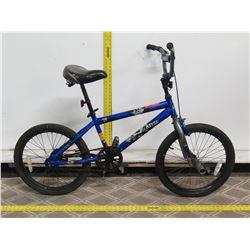 "Kent Abyss 20"" Blue Boys BMX Trick Bike"