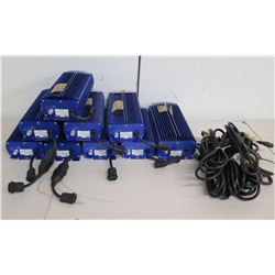 Qty 9 Lumatek Electronic Ballasts for HID Lamps & Cords