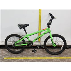 "Madd Gear MG One 20"" Green Boy's BMX Trick Bike"