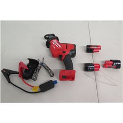 Milwaukee Reciprocating Saw, Polarity Protection Circuit Booster Cables, etc