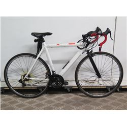 Kent 700C Denali White Men's Road Bike w/ Racing Handlebars