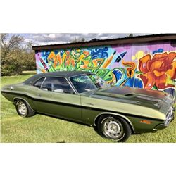 2:30PM SATURDAY FEATURE 1970 DODGE CHALLENGER RT/SE