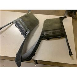 1964-65 FORD MUSTANG INTERIOR REAR TRIM PIECES NO RESERVE