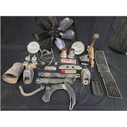 1972 ASSORTED GTO PARTS NO RESERVE