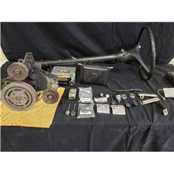 ASSORTED C10 PARTS NO RESERVE