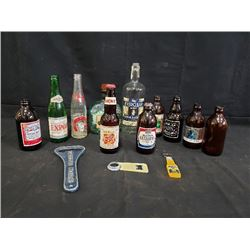 COLLECTION OF SPECIALTY LIQUOR BOTTLES NO RESRVE
