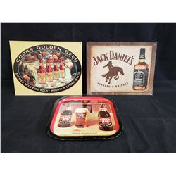 COORS, JACK DANIELS AND PIPER EXPORT SIGNS NO RESERVE