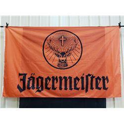 LARGE JAGERMEISTER BANNER NO RESERVE