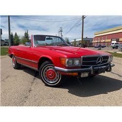 1973 MERCEDES-BENZ 450 SL ROADSTER ALL ORIGINAL