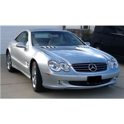2003 MERCEDES BENZ SL 500 2DR ROADSTER