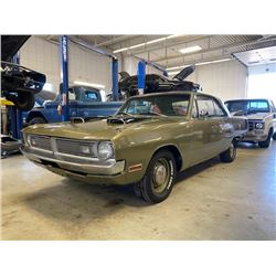 1970 DODGE DART SWINGER 4 SPEED