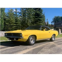1970 PLYMOUTH BARRACUDA 340 PISTOL GRIP 4 SPEED MATCHING NUMBERS