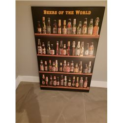 COLLECTIBLE BEERS OF THE WORLD PICTURE NO RESERVE