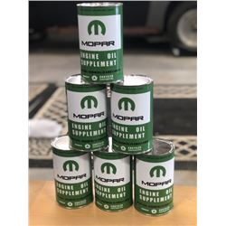 COLLECTIBLE CUSTOM MOPAR OIL CANS SIX SELLING AS ONE LOT NO RESERVE