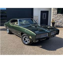2:00PM SATURDAY FEATURE 1969 PONTIAC GTO JUDGE CUSTOM PRO TOURING RESTOMOD