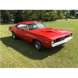 3:00PM SATURDAY FEATURE 1973 PLYMOUTH BARRACUDA 340