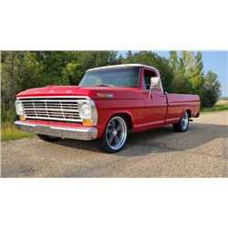1969 FORD F-100 LOW MILE