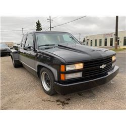 RESERVE LIFTED!! SELLING! 1993 CHEVROLET CUSTOM PICKUP SUPERCHARGED WIDESIDE SUPER SINGLES