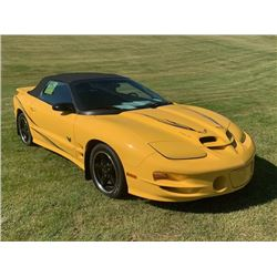 2002 PONTIAC TRANS AM ANNIVERSARY EDITION RAM AIR CONVERTIBLE