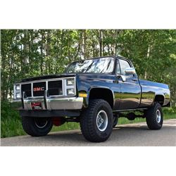 1987 GMC K1500 4X4 SQUAREBODY CUSTOM