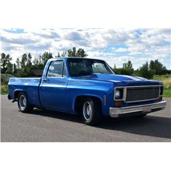 1977 CHEVROLET C1500 LOWERED SQUAREBODY