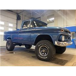 1962 CHEVROLET K10 4X4 SHORT BOX FLEETSIDE PICK UP