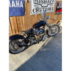 2007 KUHLS CUSTOM CHOPPER RIGID FRAME BOBBER