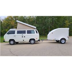 1986 VOLKSWAGEN VANAGON WESTFALIA WITH TRAILER