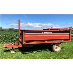 WEBER LANE SUPER-TILT 10' DUMP TRAILER