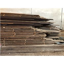 LARGE QTY OF BARN BOARD LUMBER